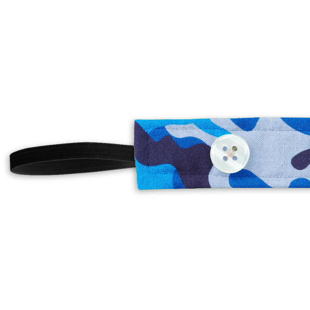 Camo Blue - Ear Saver Headband