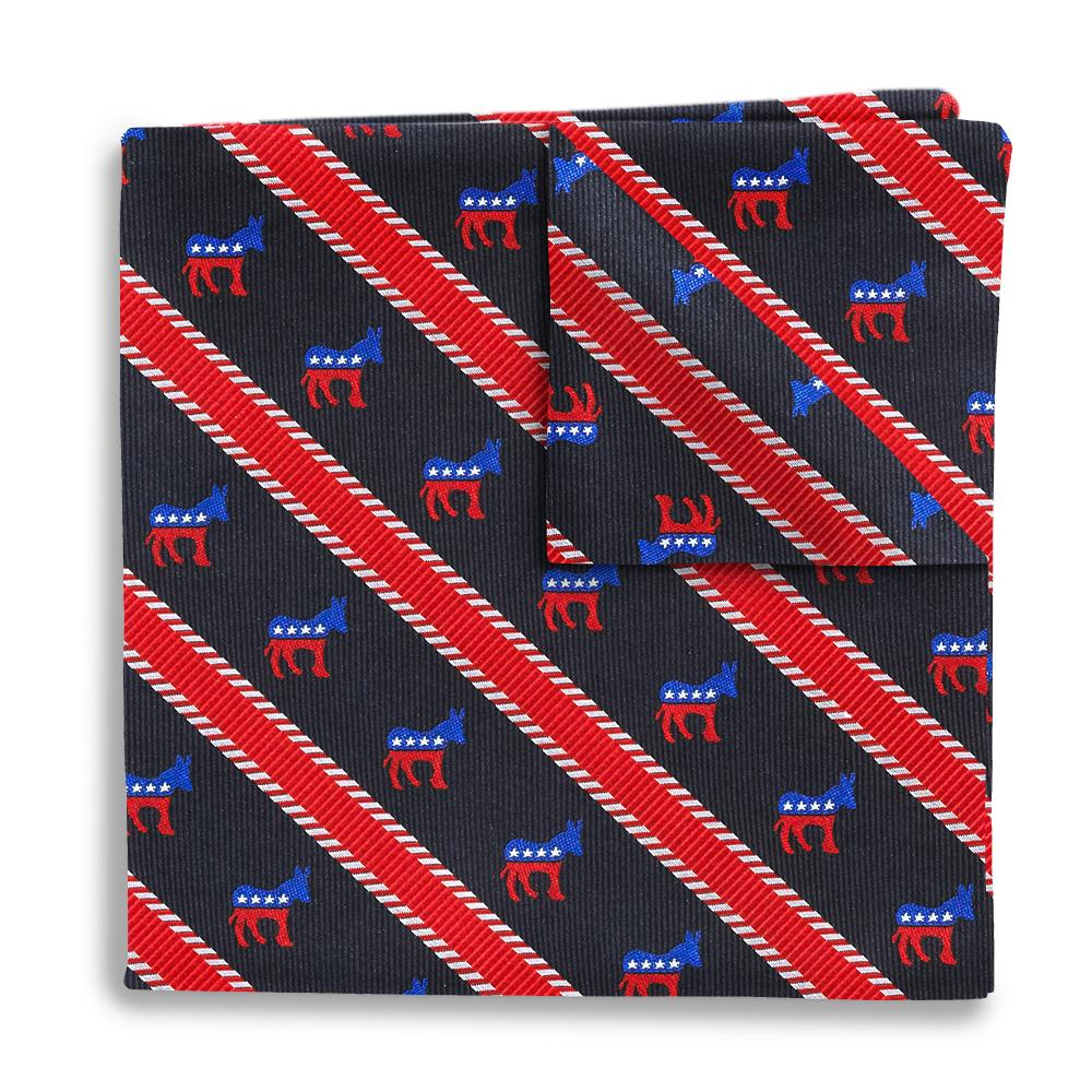 Democrat Pocket Squares