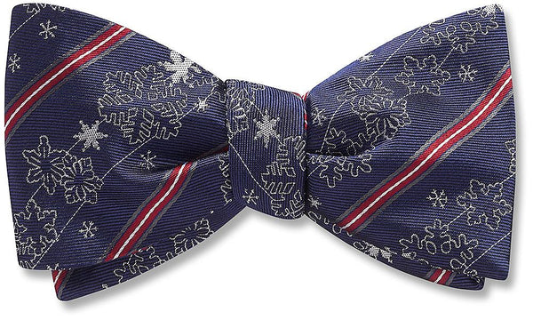 Falling Snow - bow ties
