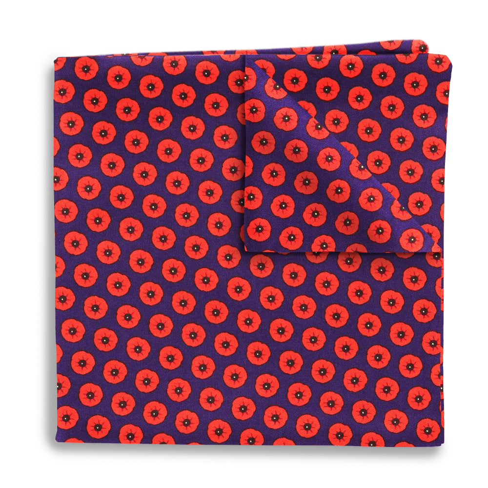 Flanders Field - Pocket Squares