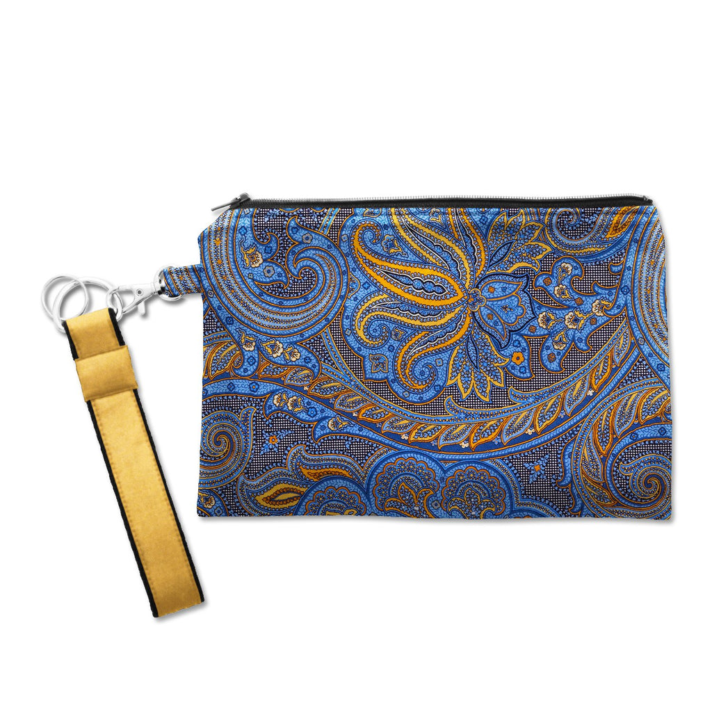 Large Silk Wristlet Flambeau