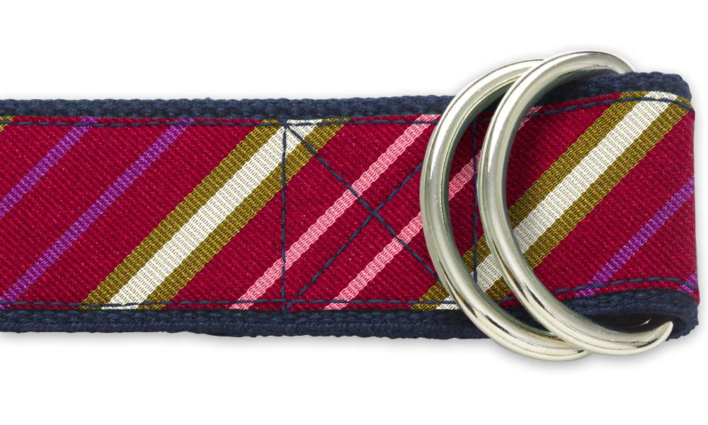 Framboise - D-Ring Belts