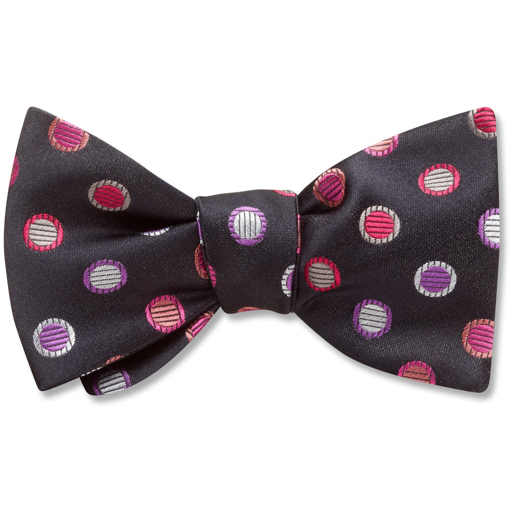 feliciterra-black-pet-bow-tie