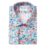 Coral Poppy Dress Shirt