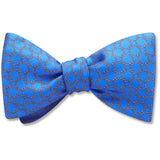 Hedron Blue bow ties