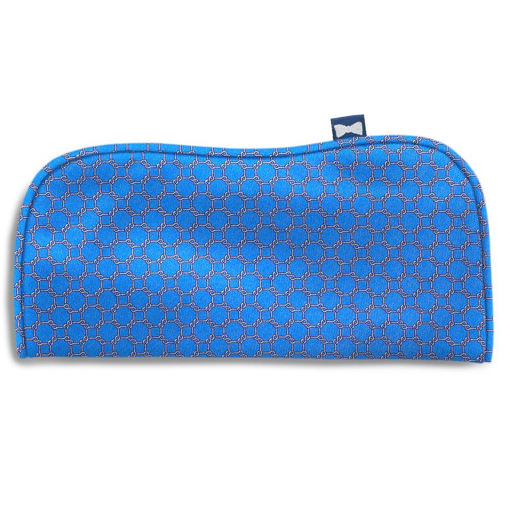 Hedron Blue Eyeglass Cases