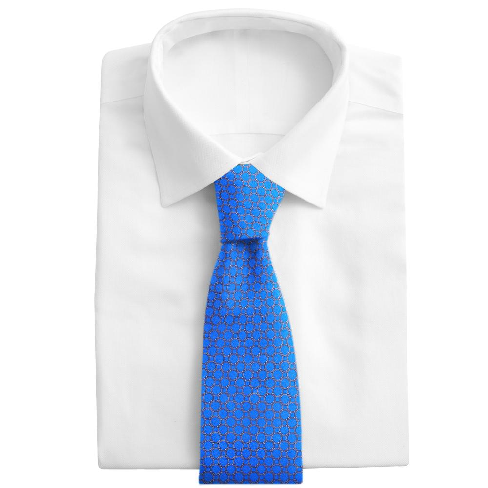 Hedron Blue Neckties