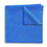 Hedron Blue - Pocket Squares