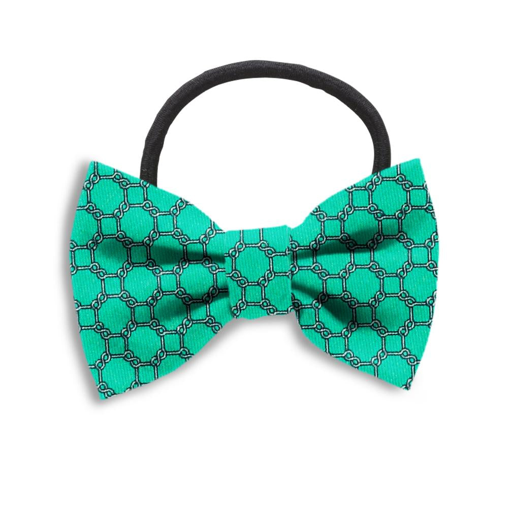 Hedron Mint Hair Bows