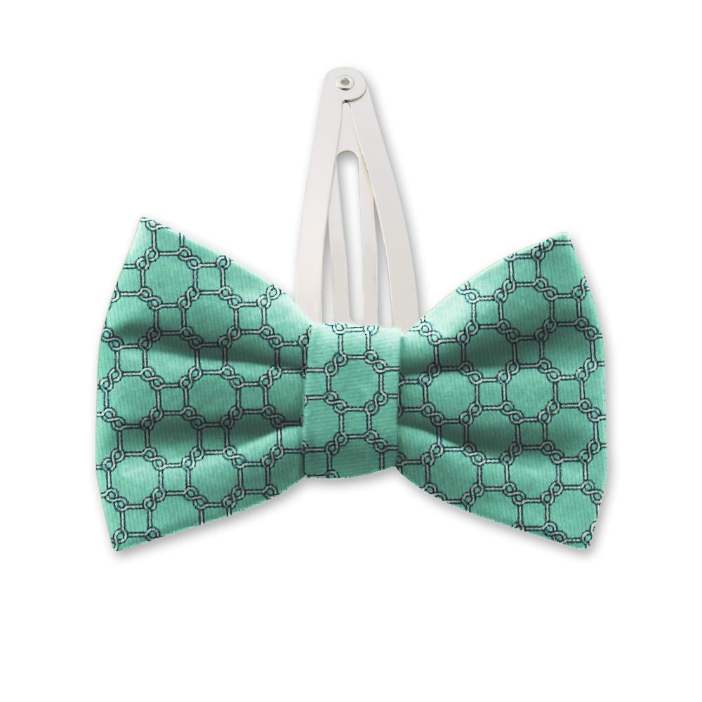 Hedron Mint Kids Hair Clips