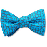 Hedron Turquoise - bow ties