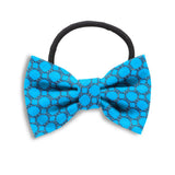 Hedron Turquoise Hair Bows