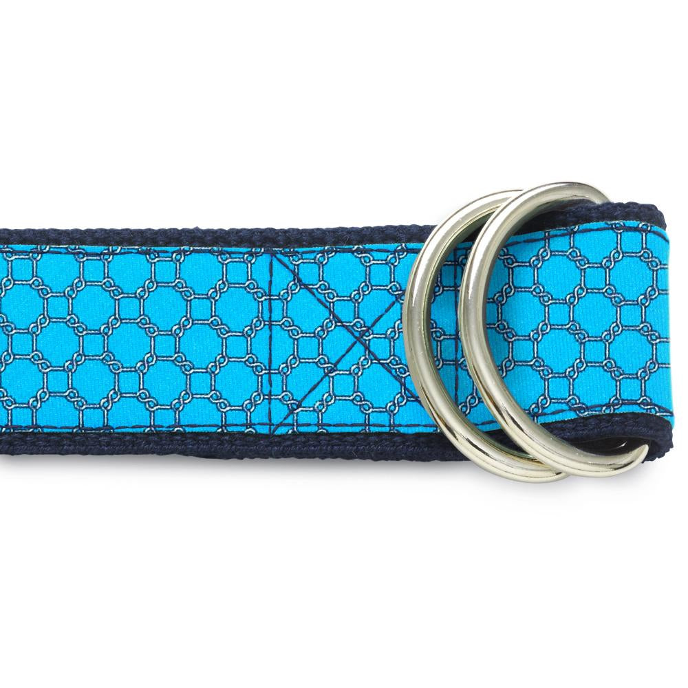 Hedron Turquoise D-Ring Belts
