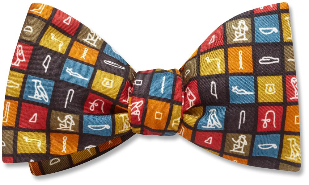 Hieroglyphics - Kids' Bow Ties