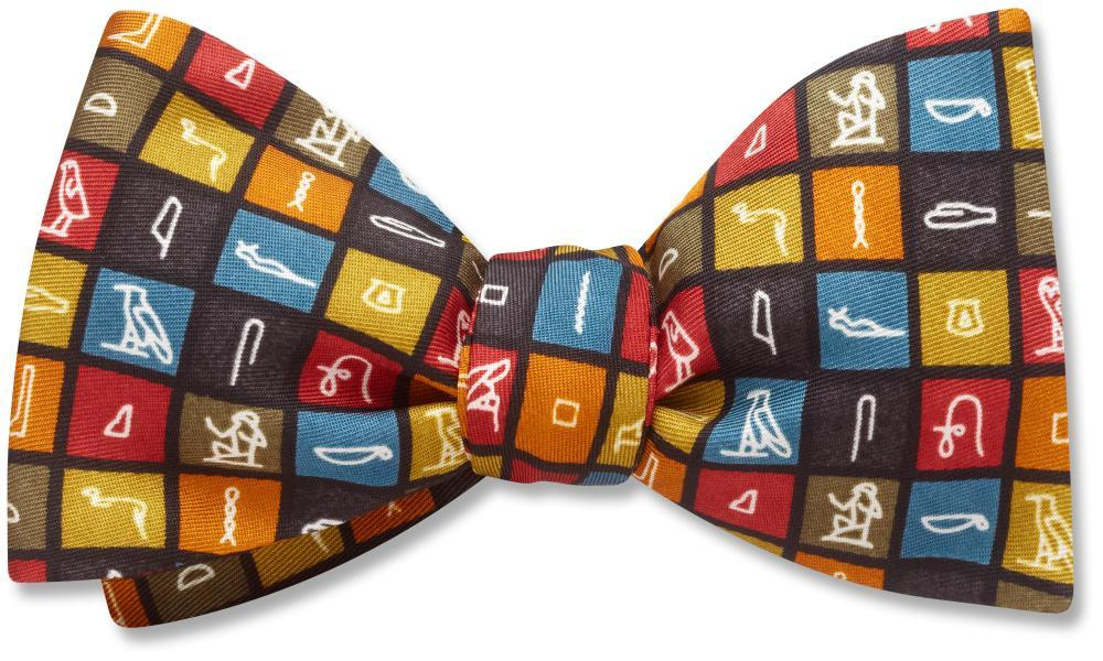 hieroglyphics-pet-bow-tie