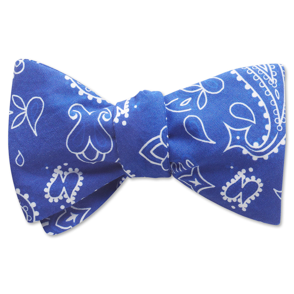 Hankie Blue - bow ties