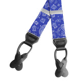 Hankie Blue - Braces/Suspenders