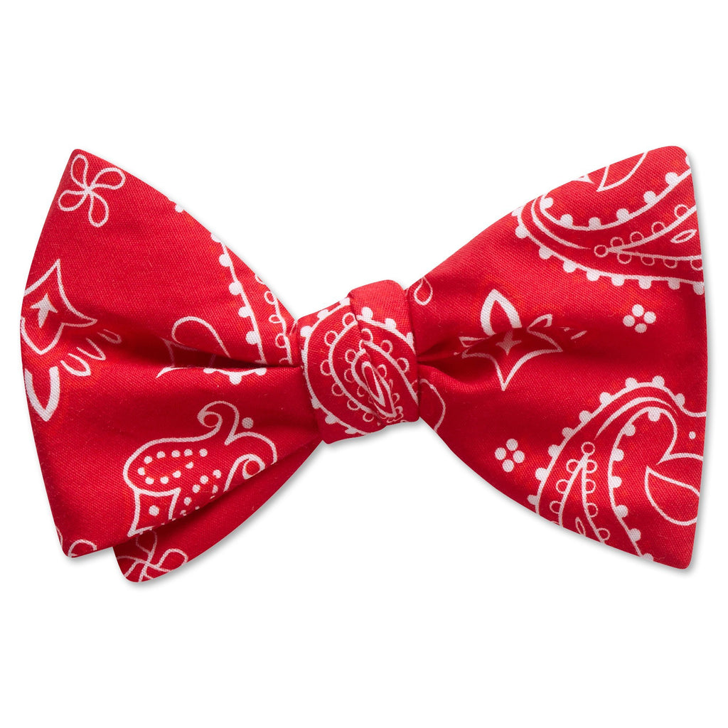 Hankie Red - bow ties
