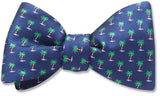 Holiday Palms - bow ties