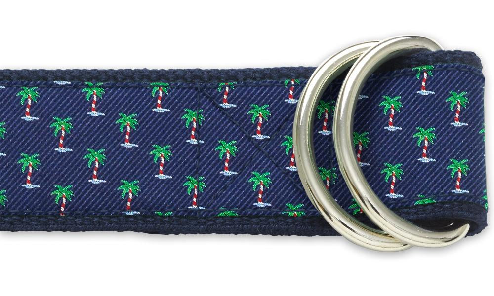 Holiday Palms - D-Ring Belts
