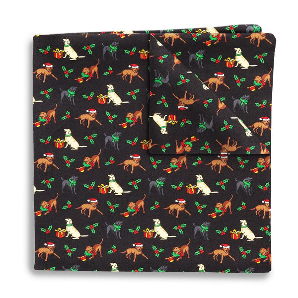 Holiday Pups - Pocket Squares