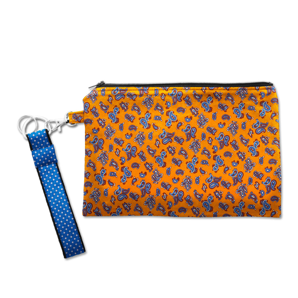 Large Silk Wristlet - Ischitella