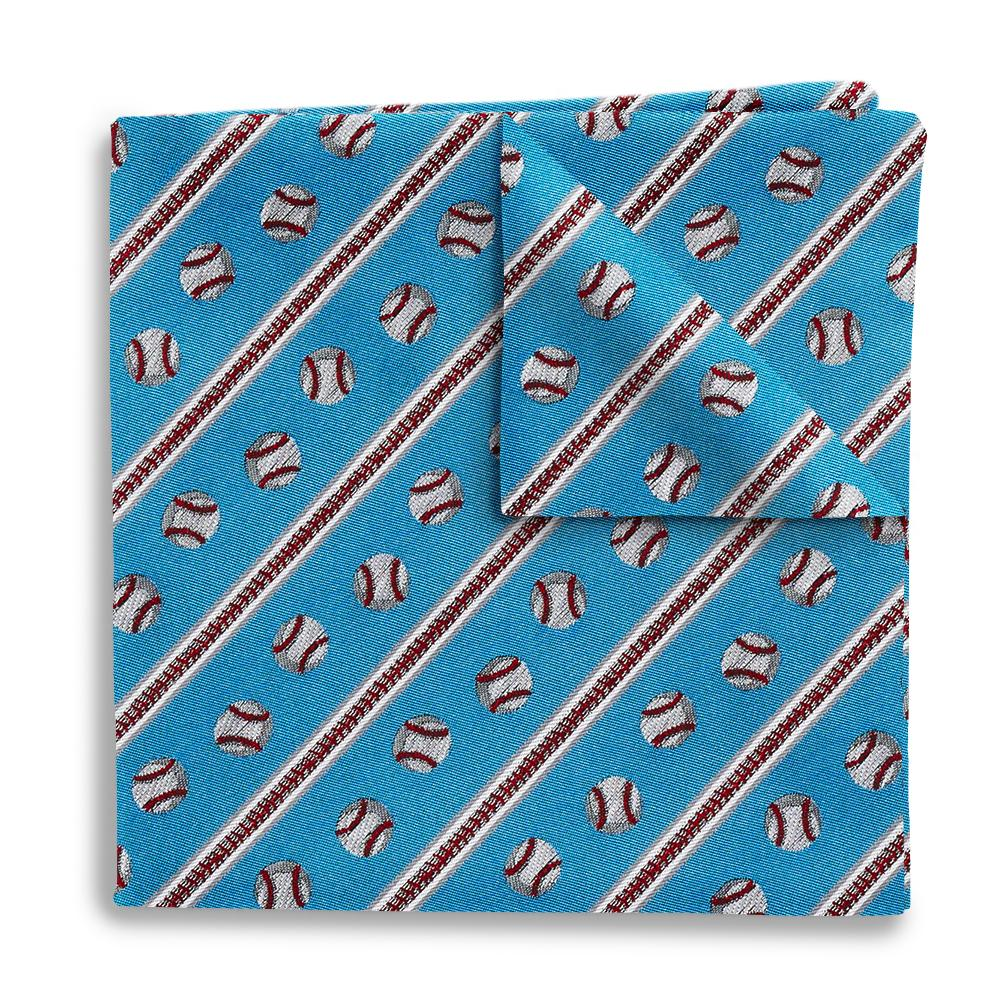 Long Ball Pocket Squares