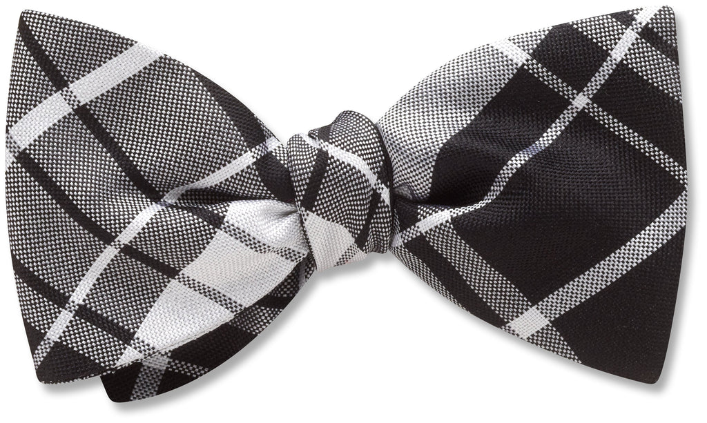 Mansfield Black - Kids' Bow Ties