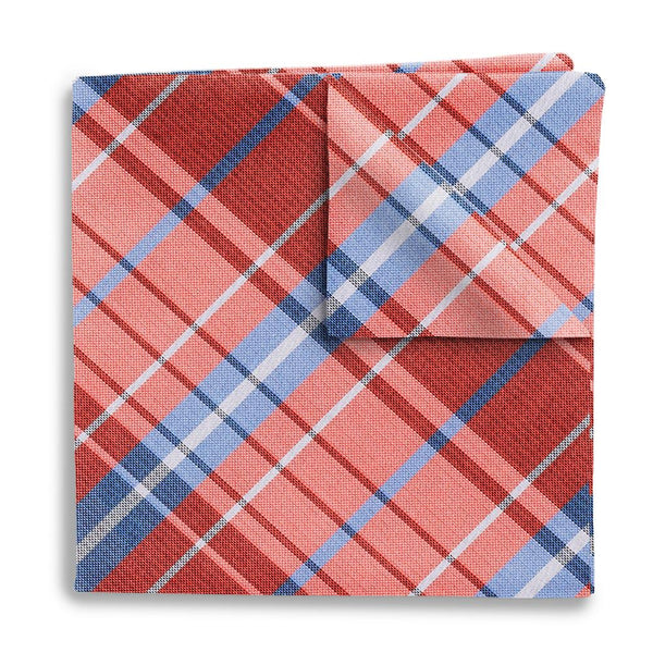 Mansfield Coral - Pocket Squares