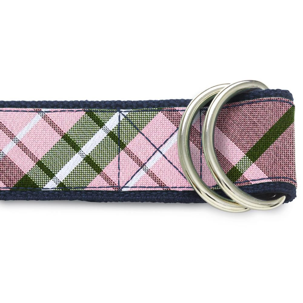 Mansfield Pink - D-Ring Belts