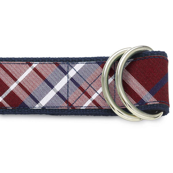 Mansfield Wine - D-Ring Belts