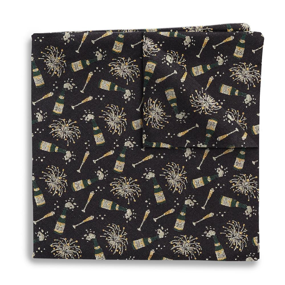 Midnight Pocket Squares