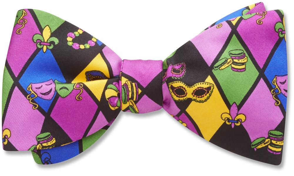 Mardi Gras - Kids' Bow Ties