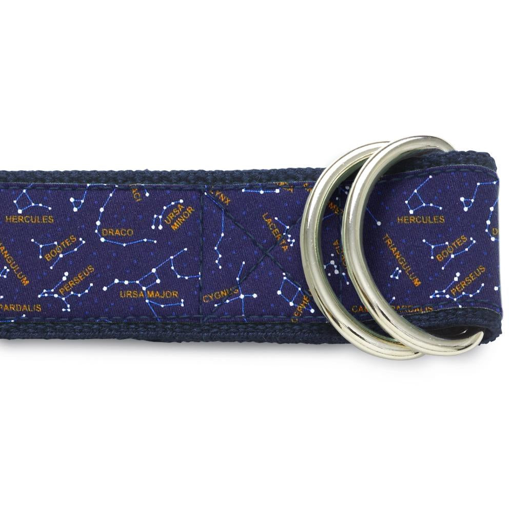 Night Sky D-Ring Belts