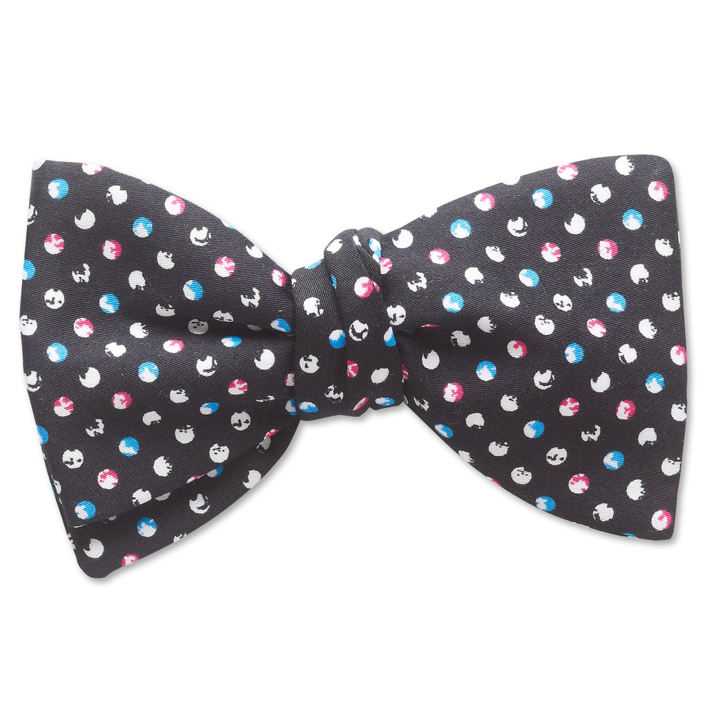Orbitas Black - bow ties