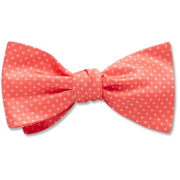 Oriel Coral - bow ties