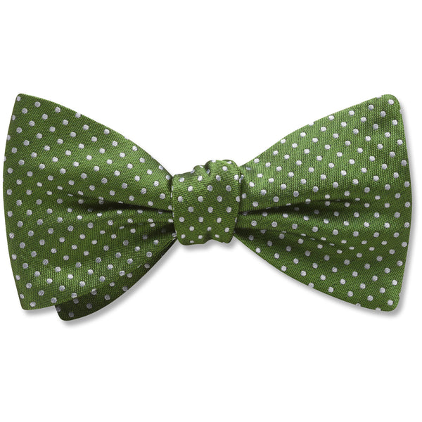 Oriel Olive - bow ties
