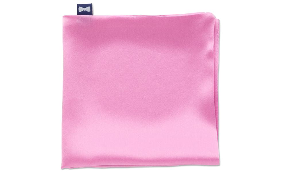 Pink Charmeuse - Pocket Squares
