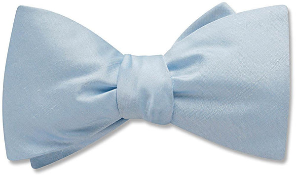 Pale Blue - bow ties