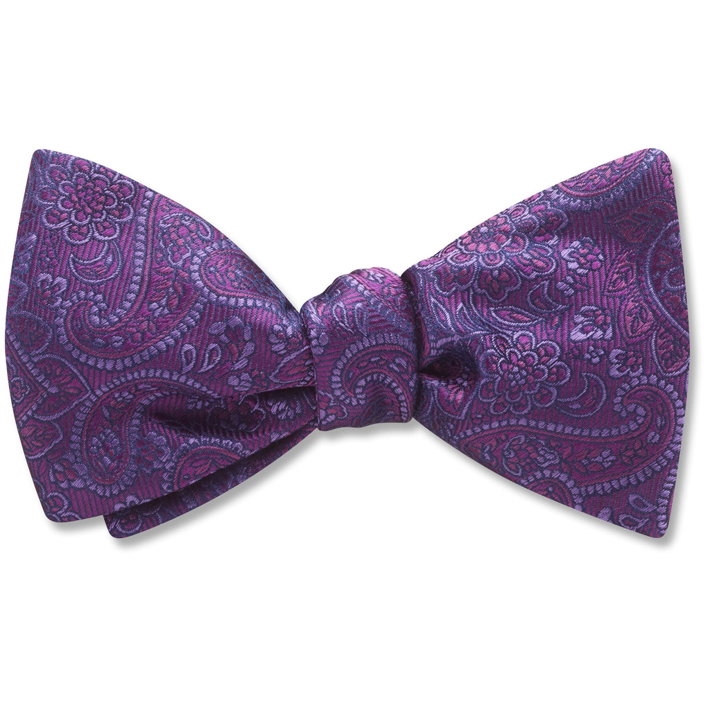 Pembroke Plum - bow ties