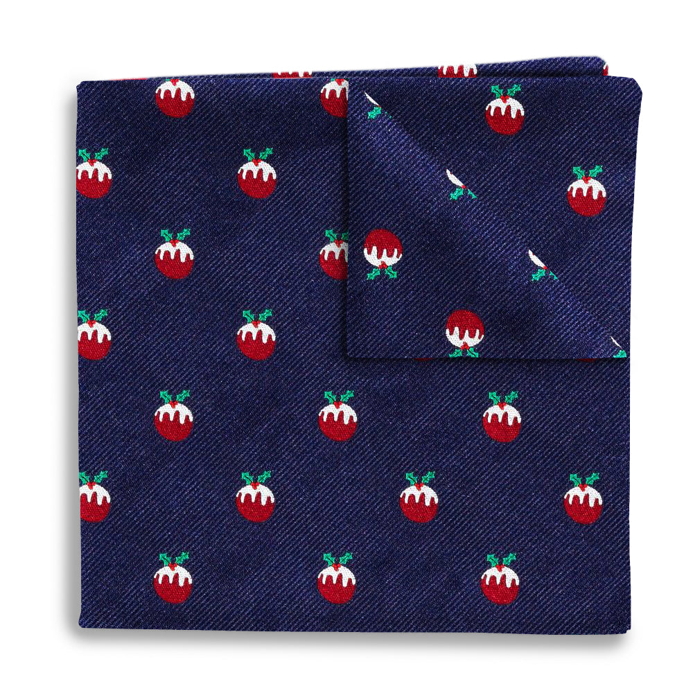 Plum Pudding - Pocket Squares