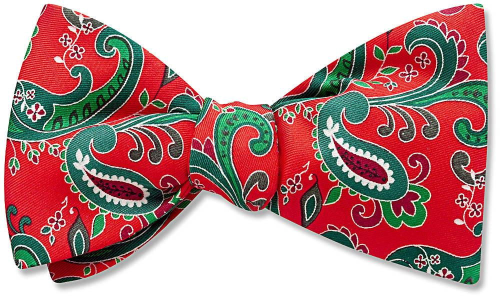 Poinsettia Cove - bow ties