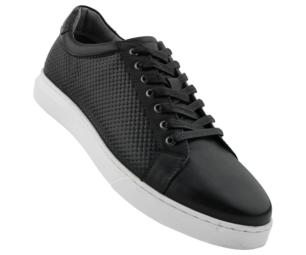 Pure Black Leather Shoes | Beau Ties of