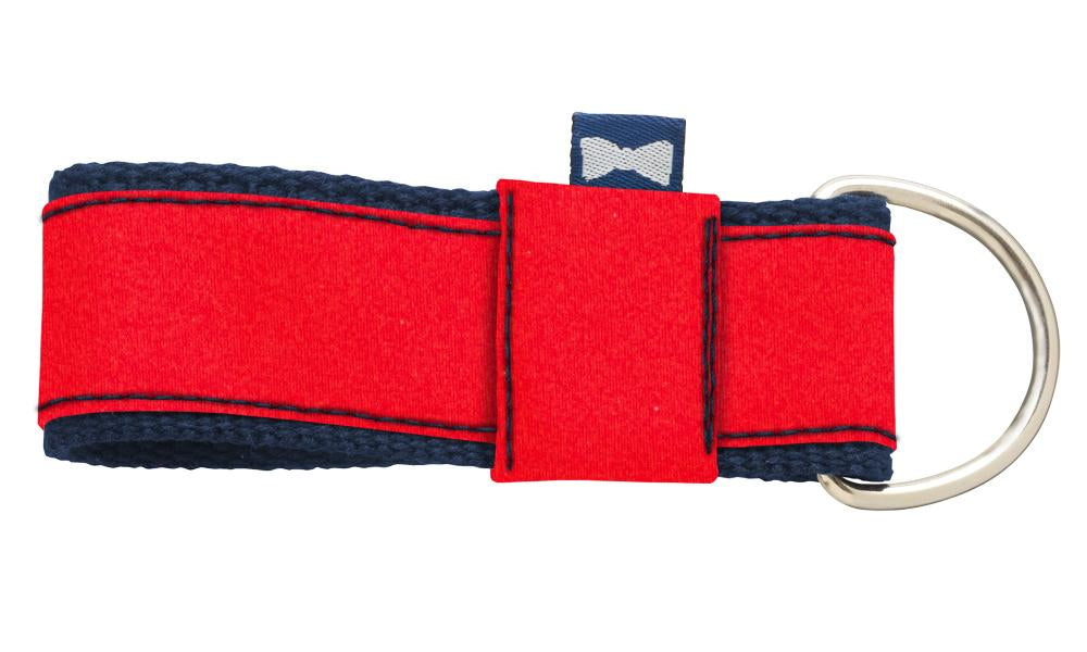 Red Charmeuse - Key Fobs
