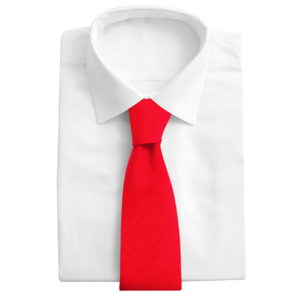 Red Charmeuse - Neckties