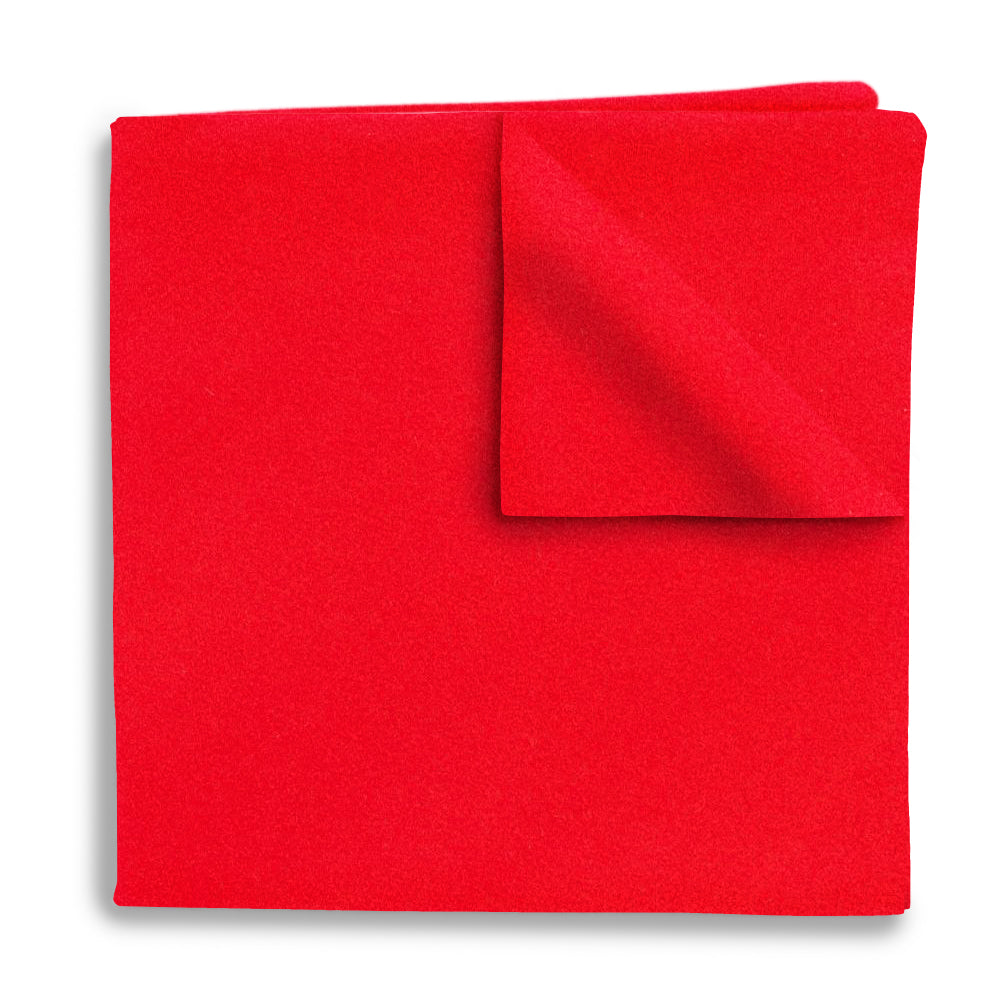 Red Charmeuse - Pocket Squares