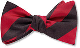 Collegiate Red And Black - bow ties