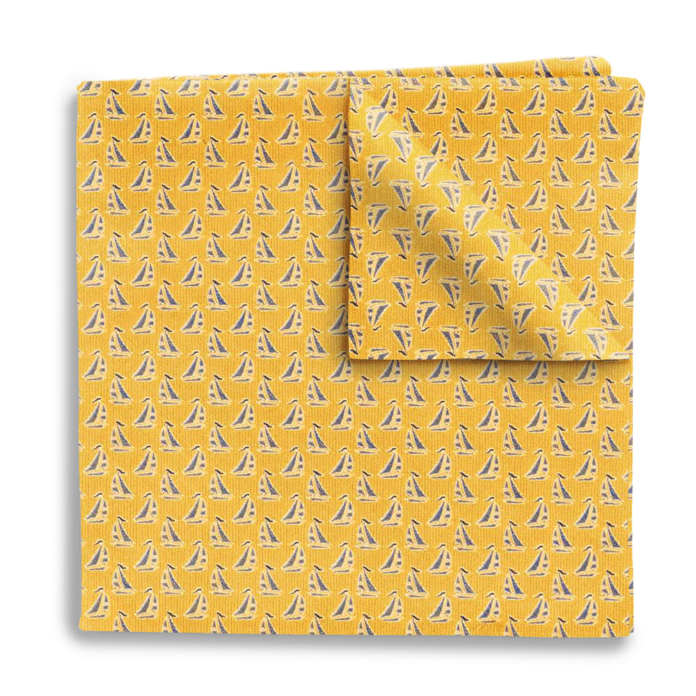 Sailboat Bay - Pocket Squares