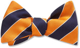 Scholastic Navy/Orange - Pet Bow Ties