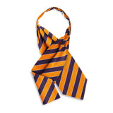 Scholastic Navy/Orange - Cravats